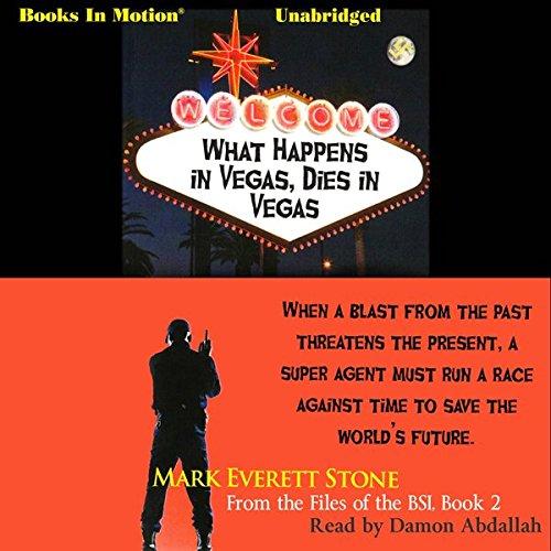 What Happens in Vegas, Dies in Vegas cover art