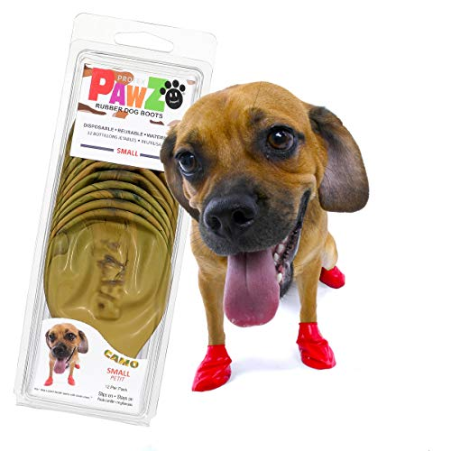 Protex PawZ PZCMS Camo Dog BootsHundestiefel, S