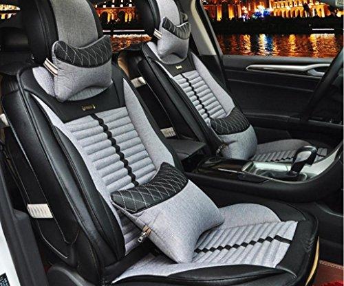 AMYMGLL De haute qualité Coussin Général Car Cover Linge Deluxe (10set) Édition générale Coussin Car Cover Four Seasons Universal 6 couleurs Sélection , 5