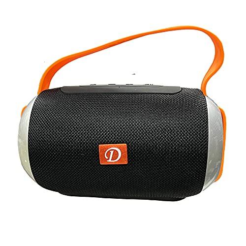 Altavoz Bluetooth y Inalámbrica portátil 5W, USB/microSD MP3 Player La sincronización de la batería es Muy Buena
