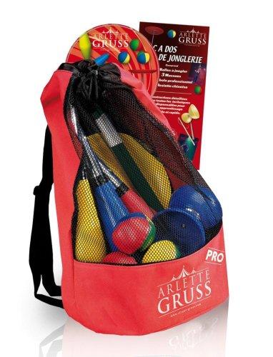 Unbekannt OIDMAGIC - Cirque Arlette Gruss - AG7 - Artikel des Jonglierens - Rucksack Zubehör 4 im Jonglieren