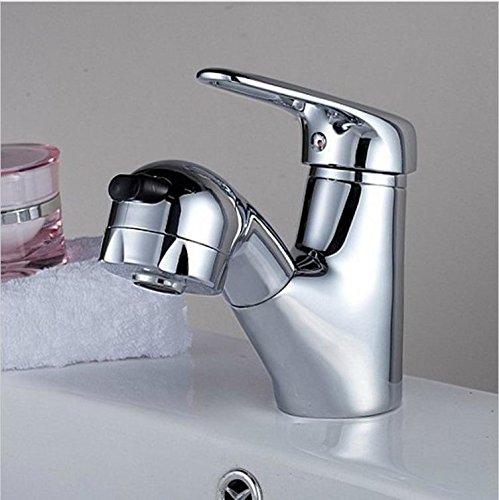 AllureFeng Ave saca mezcladora grifo grifo cocina baño Lavabo gatillo Caño para lavabo