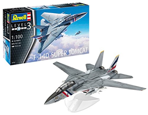 Revell 03950 - F-14D Super Tomcat 1: 100 Scale Model Kit