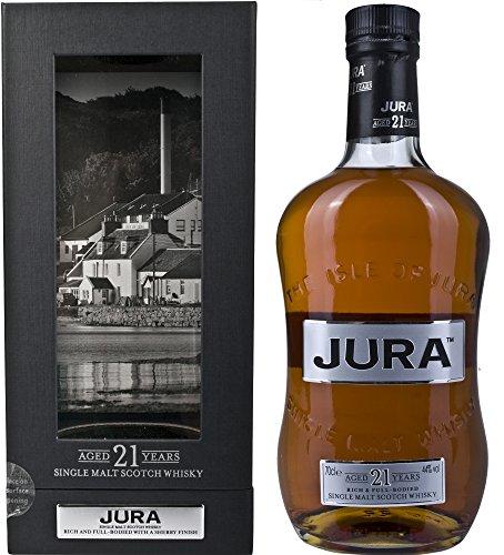 Jura 21 YO (con estuche) 70cl. Isle of Jura. 1un.