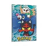 MMJH Póster de Pokémon Alola de 30 x 45 cm