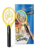 ZAP IT! Bug Zapper - Battery Powered (2xAA) Mosquito, Fly Killer and Bug Zapper Racket - 3,500 Volt...