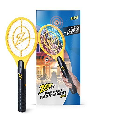 Zap It Bug Zapper Battery Powered (2xAA Included) Bug Zapper Racket, 3,500 Volt thumbnail image