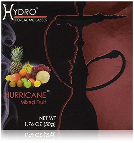 Hydro Herbal 50g Mixed Fruit Hookah Shisha Tobacco Free Molasses