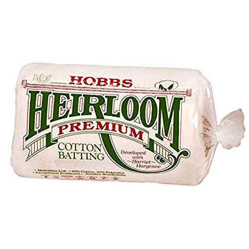 Hobbs Batting Heirloom 80/20 Cotton/Poly...
