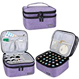 Luxja Box pour Organisateur d'huile Essentielle pour Huile parfumée et Accessoires(30 Bouteilles)