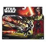 Hasbro – B3718 – Star Wars : The Force Awakens – Elite Speeder Bike & Stormtrooper – Véhicule + Figurine 9 cm
