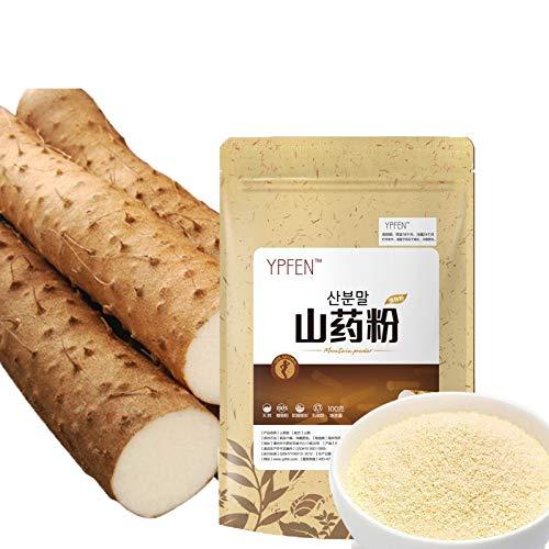 100g (0.22LB) rein natürliches organisches Yamswurzel-Rhizome-Extrakt 100% Puder-Kräutertee duftender Tee Blumentee Botanischer Tee-Krauttee Grüner Tee Roher Tee blumentee chinesischer Tee