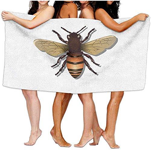Bikofhd Beach Towel,Honeybee Travel Towels SPA Beach Towel W