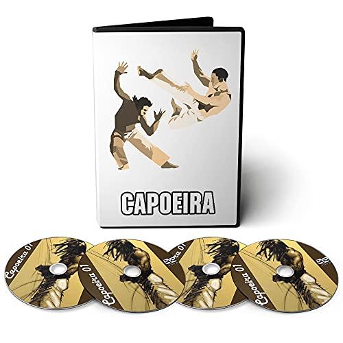 Capoeira - Técnicas, Treinamentos e Condicionamento em 04 DVDs Videoaula
