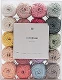 Rico Design Creative Ricorumi dk Set pastell 20 Farben 25g