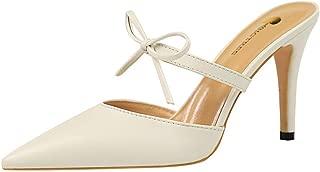 TAOFFEN Women Fashion Slipper High Heel