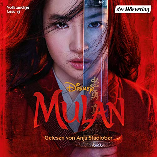 Mulan audiobook cover art
