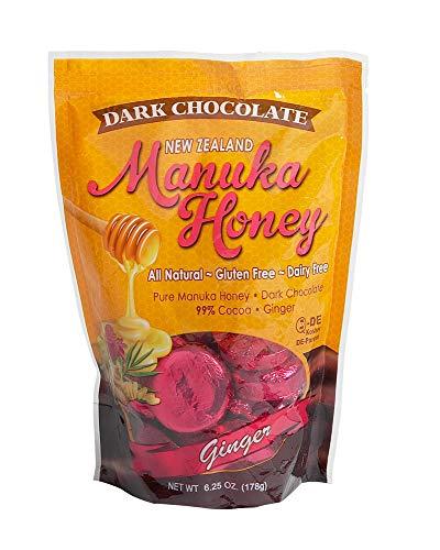 PRI Manuka Honey Ginger Chocolates 6oz