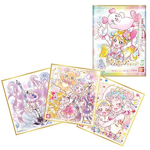 プリキュア 色紙ART5 [全16種セット(フルコンプ)] ※BOX販売ではありません。色紙のみ お菓子は付属しません