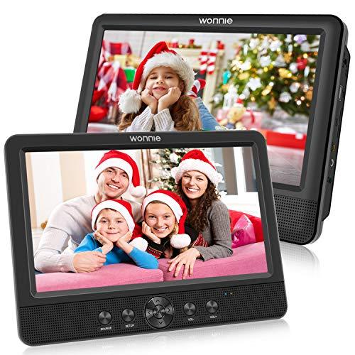WONNIE 10.5 '' Double Lecteur DVD Portable Voiture 1024 * 600 avec de Puissants...