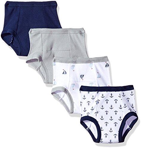 Luvable Friends - Pantalones de entrenamiento unisex de algodón para bebé, Anchor, 12-18 Meses