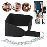 01 Cintura ponderata Fitness Dip Belt, Dip Belt, Durtable per Uomo per Donna
