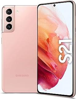 Samsung Galaxy S21 Dual SIM Smartphone, 128GB 8GB RAM 5G (UAE Version), Phantom Pink