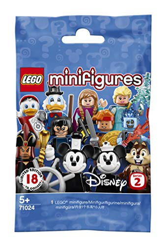 LEGO71024 - Minifiguren Disney Serie2, Bauset (1Minifigur) (Modell sortiert )