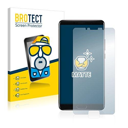 BROTECT Protector Pantalla Anti-Reflejos Compatible con Huawei Mate 10 (2 Unidades) Pelicula Mate Anti-Huellas