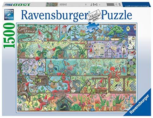 Ravensburger Puzzle 16712 - Zwerge im Regal - 1500 Teile Puzzle für Erwachsene und Kinder ab 14 Jahren
