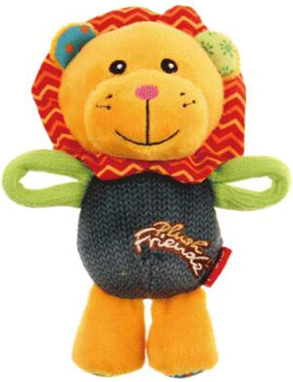 QYSZYG Pet Dog Toy Cartoon Animal Shape Vocal Plush Toy Small and Medium Dog Toy Puppies Pillow pet Toy (color   C)
