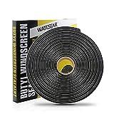 wattstar 15ft Butyl Tape, 3/8 Inches Headlight Sealant, Black Butyl Sealant Tape for Car/RV Headlights, Taillights, Windshields, Windows and Doors,1PC