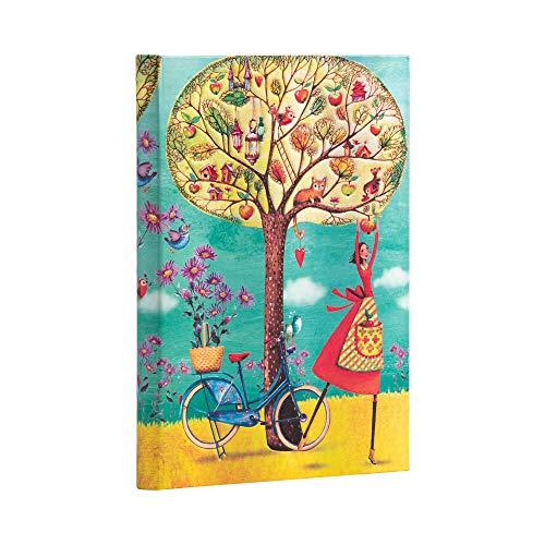 Paperblanks Cuadernos de Tapa Dura Manzanas de Otoño   Rayado   Midi (130 × 180 mm)
