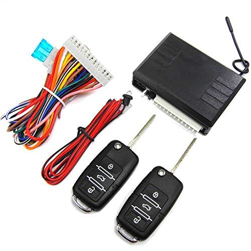 Peanutaso Accesorios electrónicos para automóviles Dispositivo antirrobo Cerradura Central Alarma para Dardos Accesorios para Luces de vehículos