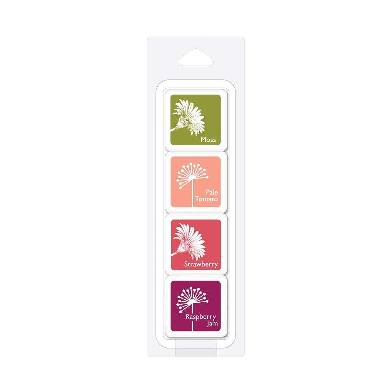Poinsettia Layering Cube Pack (4)