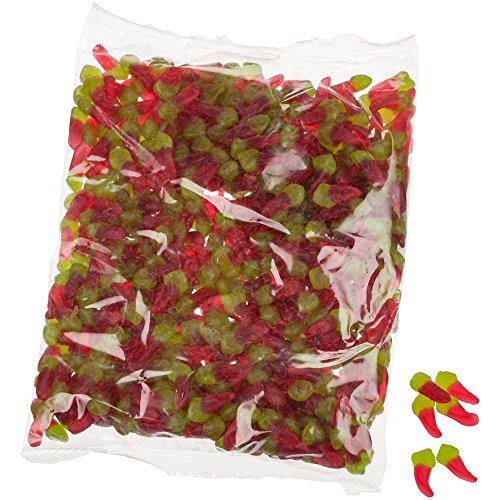 Yummi Yummi Kleine Hot Chili Peppers Extra Scharf 1000g im Beutel