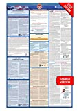 NC Labor Law Poster, 2021 Edition - State, Federal and OSHA Compliant Laminated Poster (North Carolina, Spanish)