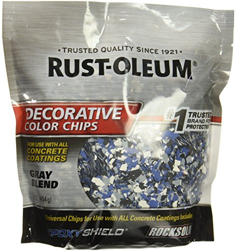 Rust-Oleum Decorative Chips- Gray Blend