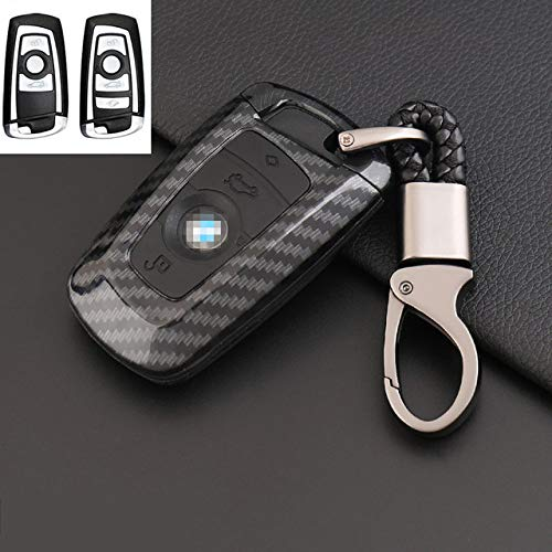 ZFLL autosleutelhoes voor BMW F05 F10 F20 F30 Z4 X1 X4 X5 X6 nieuwe goederen X7 koolstofvezel auto styling Un nero