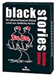 Moses. Black Stories Holiday Edition | 50 rabenschwarze Rätsel | Das Krimi Kartenspiel