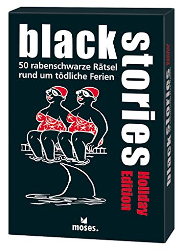 Moses. Black Stories Holiday Edition | 50 rabenschwarze Rätsel | Das Krimi Kartenspiel