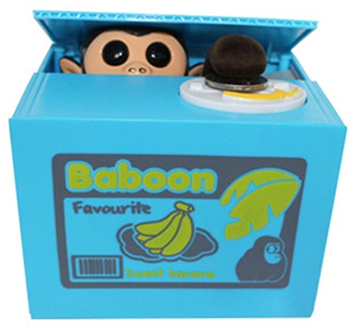 FRE Tirelire avec Petit Singe (Banana)