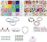 JIEERCUN 2set DIY Bead Traje Ropa de Vestir Kit Accesorios Accesorios Chica Regalos niños Regalos niños Juguetes Joyas (Color : Multi-Colored)