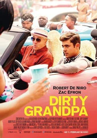 Dirty Grandpa - Robert De Niro - Germany Imported Movie Wall Poster Print - 30CM X 43CM Zac Efron