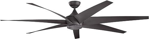 wholesale Kichler 310115DBK Lehr 80 Inch Lehr discount Fan, sale Distressed Black outlet online sale