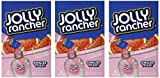 Lot of 3- (6-ct.) Boxes JOLLY RANCHER Watermelon Singles to Go! Sugar Free Drink Mix.