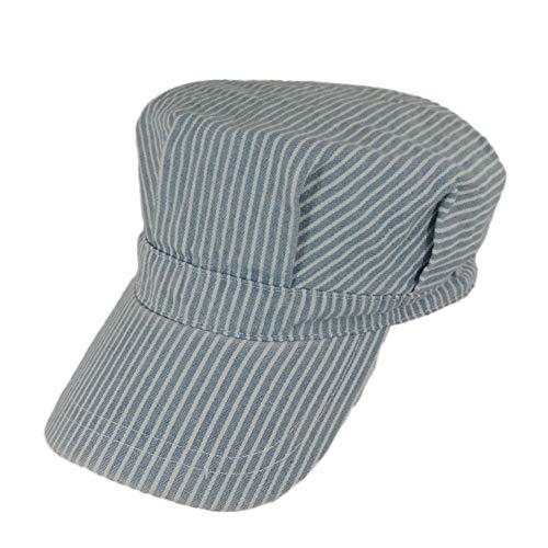 Mega Cap Youth Size Adjustable Train Engineer Hat (53 cm)