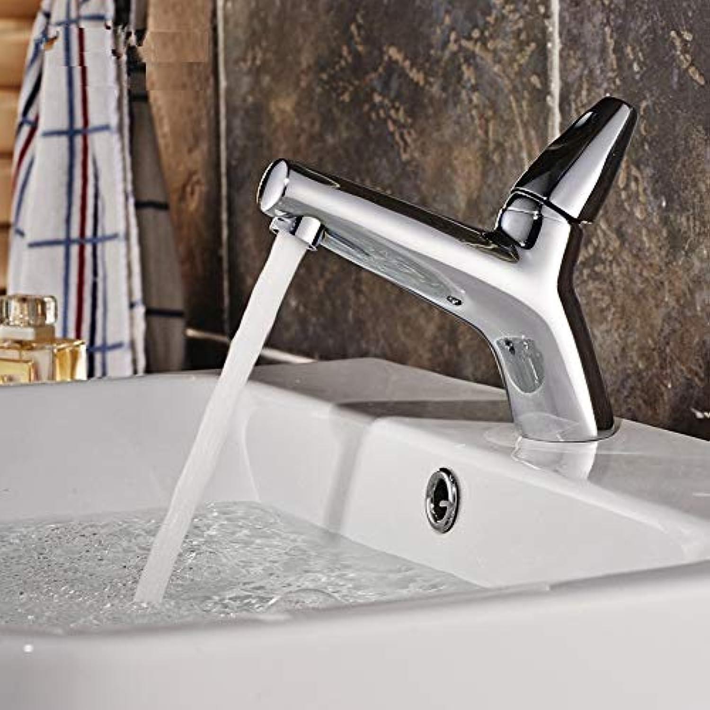 IFELGUD Moderne Waschbecken Bad Wasserhahn heien und kalten Mischer Wasserhhne Bad Becken Wasserhahn