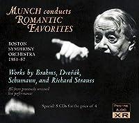 ミュンシュ、ロマン派作品ライヴ録音集 (Munch Conducts Romantic Favorites)
