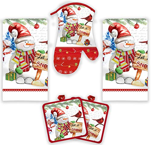 Top 10 Best Selling List for christmas kitchen towels set